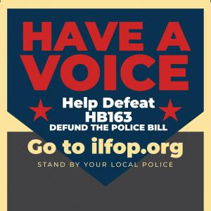 Illinois Fraternal Order Of Police HB163 voice