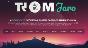 A TRADE-FREE Operating System based on MANJARO Linux