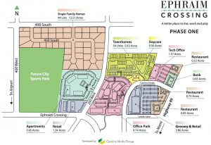 Ephraim Crossing site plan