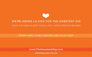 Our High Purpose Kid Love Work Program is a Rewarding Experience Specially Suited for Grateful Professional Working Families that Love Preparing Their Kids to Succeed in Life #thesweetestgig www.TheSweetestGig.com
