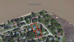 """514 E. Gwynnfield Road, Tappahannock, VA, is a well built one owner 5 bedroom 2 bath brick/vinyl sided home with a walk-out basement on a .34± acre lot one block off the Rappahannock River in Essex County, VA.  An adjacent .36± acre lot will convey with the home."