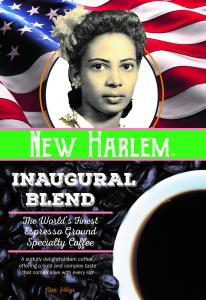 limited edition blend created only for the 2021 inauguration  filled with the aroma of the company's signature dark roast