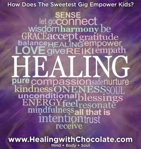 Starting On Mother's Day Kids that Work on The Sweetest Gig...Earn Perk to Heal the World with Chocolate #healingwithchocolate #thesweetestgig www.HealingwithChocolate.com