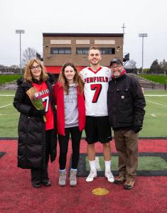 Michael Mitchell of Penfield NY with family