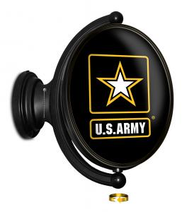 United States Army: Original Oval Rotating Lighted Wall Sign