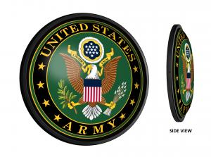 United States Army: Round Slimline Lighted Wall Sign