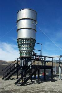 TCI 4800 Incinerator & Enclosed Combustor for Waste Gas