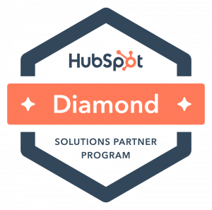 HubSpot Diamond Solutions Partner badge