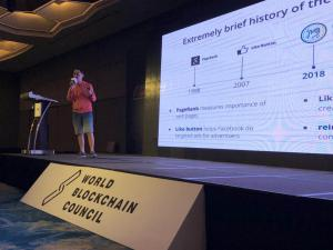 LikeCoin at World Blockchain Conference
