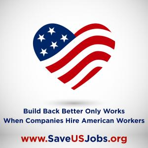 Know a company hiring professional staff? Refer them to Recruiting for Good to help the American Workforce #positiveamericana #saveusjobs www.SaveUsJobs.org
