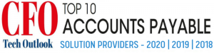 CFO Tech Top 10 AP Solutions Provider logo