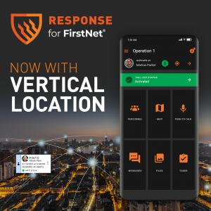 Response for FirstNet situational awareness app now with vertical location