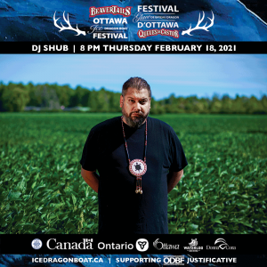 The Godfather of PowWowStep, DJ Shub is a Mohawk, from the Six Nations of the Grand River's Turtle Clan