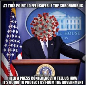 Governor Andrew Cuomo as a coronavirus