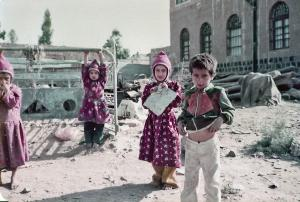 """Kids Playing in the Street - Sana'a, Yemen 1982"" by Gareth1953 All Right Now is licensed under CC BY 2.0"