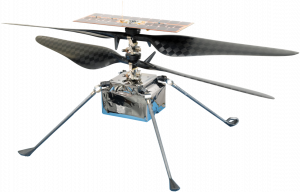 Ingenuity Robocopter - Image courtesy of NASA and JPL