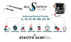 M.E. Simpson Becomes Midwest Electro Scan Representative and Authorized Service Provider.