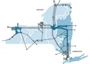 NY Power Grid Map
