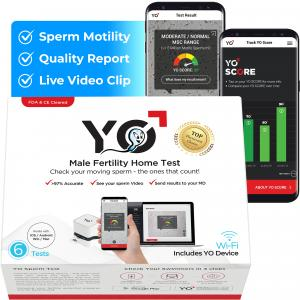 YO 2.0 WiFi Home Sperm Test Kit.