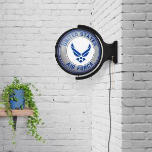 United States Air Force: Original Round Rotating Lighted Wall Sign