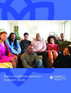 NHPCO Black and African-American Outreach Guide