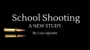 School Shooting Book logo