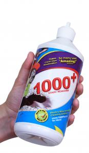"1000+ Stain Remover as the ""Reach for it First"" solution when messes happen"