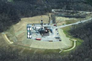 EQT Drilling Rig in West Virginia