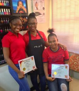 Nail Technician Graduation