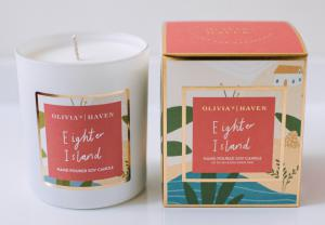 OLIVIA'S HAVEN Eighter Island Scented Candle