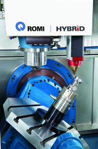 Romi DCM 620-5X Hybrid Vertical Machining Center - Simultaneous Machining on all Five Axes