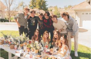 The Creators of The House At Playlist enjoy a curated picnic experience courtesy  of The Picnic Collective