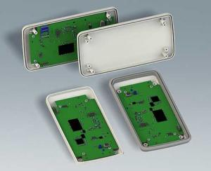 SLIM-CASE has plenty of space inside for PCBs, displays, batteries etc.