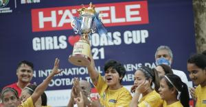 Hafele Girls Love Goals Cup Winners
