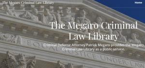The Megaro Criminal Law Library Website