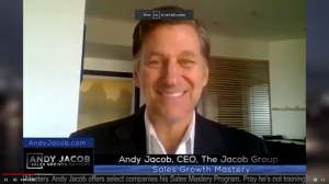 "ANDY JACOB ANNOUNCES RELEASE OF NEWEST SALES MASTERY VIDEO,"" THE SECRET OF SALES."""