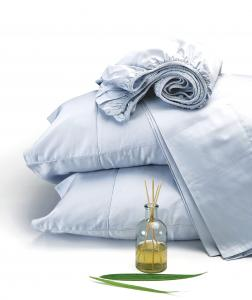 Terra Thread Home sheets are made from organic cotton with Fair Trade and carbon-neutral practices.