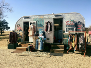 "Wild West Vintage Decor hosts a monthly, outdoor, flea market-style shopping experience that starts in the spring each year called ""Junk Fest."""