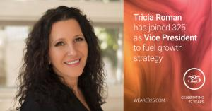 Tricia Roman joins 325