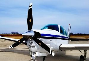 Beechcraft Bonanza with New Navigator Prop
