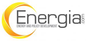 Logo emphasizing both energy market and policy development