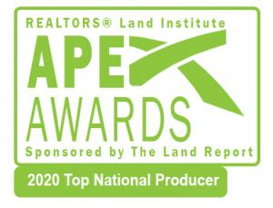 Image of the APEX 2020 Top Producer Award - Dean Saunders