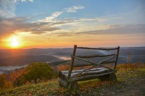 Moments in nature inspire awe, such as at this overlook in the Susquehannock State Forest.