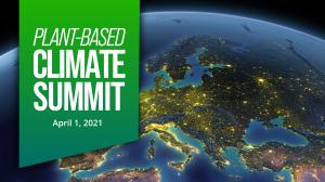 The Plant-Based Climate Summit will take place on April 1.