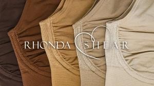 Find your Perfect Match with bras and panties from Rhonda Shear's new skin tone collection