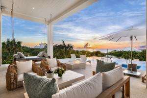 Beachfront Villa at Beach Enclave Grace Bay Turks & Caicos