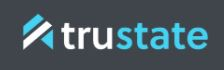blue logo for Trustate