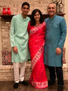 Sunil Jagani of AllianceTek with his family