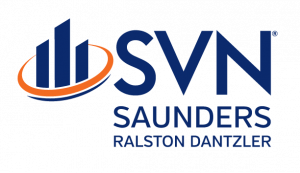 The logo of SVN | Saunders Ralston Dantzler Real Estate in Lakeland, Florida