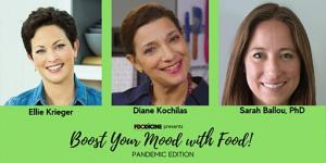 Presenters Ellie Krieger, Diane Kochilas and Dr. Sarah Ballou are looking forward to seeing you on Saturday!